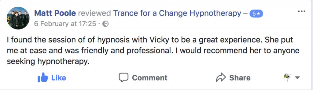Testimonial Trance for a Change