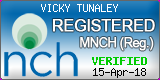 MNCH Registration seal Vicky Tunaley