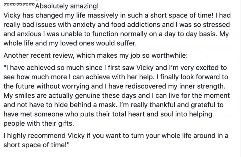 Review hypnotherapy Hinckley